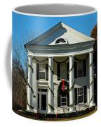American Colonial Architecture Christmas  Coffee Mug