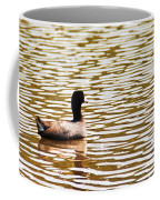 American Coot Floating By Coffee Mug