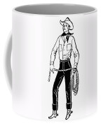 American Cowboy Coffee Mug