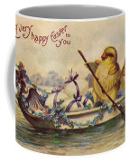 American Easter Card Coffee Mug by Granger