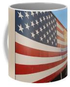 American Flag At Nathan's Coffee Mug