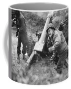 American Howitzers Shell German Forces Coffee Mug
