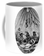 American Indian Medicine Lodge, 1868 Coffee Mug