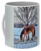 American Paint In Winter Coffee Mug by Jeff Kolker