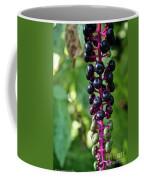 American Pokeweed Berries Coffee Mug