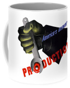 America's Answer -- Production  Coffee Mug