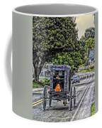 Amish Girl Coffee Mug