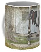 Amish Pump And Cup Coffee Mug