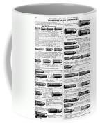 Ammunition, 1895 Coffee Mug