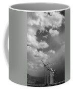 Amongst The Clouds Bw Coffee Mug