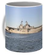 Amphibious Assault Ship Uss Wasp Coffee Mug