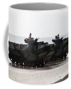 Amphibious Assault Vehicles Land Ashore Coffee Mug