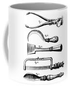 Amputation Instruments, 1772 Coffee Mug