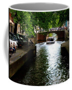Amsterdam By Boat Coffee Mug