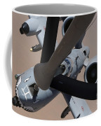An A-10 Thunderbolt II Receives Fuel Coffee Mug