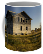 An Abandoned Hospital Stands Alone Coffee Mug
