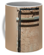 An Abstracted Wall Coffee Mug