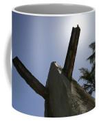An Actual World War II Beach Obstacle Coffee Mug by Michael Wood