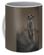 An Adult Meerkat Suricata Suricatta Coffee Mug
