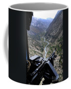 An Aerial Gunner Surveys Coffee Mug
