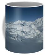 An Aerial View Of Mount Vinson Coffee Mug