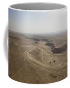 An Aerial View Of The Wadi Over Kunduz Coffee Mug