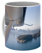 An Aerial View Of Vancouver Coffee Mug by Taylor S. Kennedy