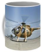 An Afghan Air Force Md-530f Helicopter Coffee Mug