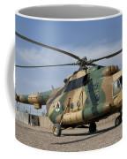 An Afghan Air Force Mi-17 Helicopter Coffee Mug