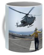 An Ah-1z Cobra Helicopter Takes Coffee Mug