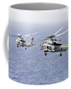 An Airborne Change Of Command Coffee Mug