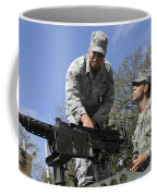 An Airman Instructs A Cadet On How Coffee Mug by Stocktrek Images