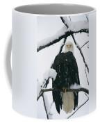 An American Bald Eagle Perched Coffee Mug