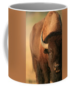 An American Bison In The Early Morning Coffee Mug
