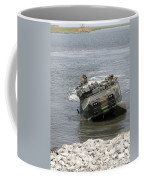 An Amphibious Assault Vehicle Climbs Coffee Mug