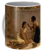 An Ancient Custom Coffee Mug by Edwin Longsden Long