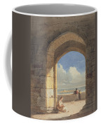 An Arch At Holy Island - Northumberland Coffee Mug