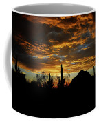 An Arizona Desert Sunset  Coffee Mug