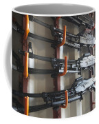 An Armory Of Pk Machine Guns Designed Coffee Mug