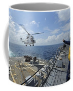 An As-332 Super Puma Helicopter Coffee Mug