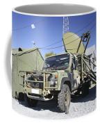 An Australian Defense Force Satellite Coffee Mug