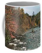 An Autumn Scene Along Little River Coffee Mug