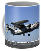 An E-2c Hawkeye Conducts A Touch-and-go Coffee Mug by Stocktrek Images