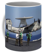 An  E-2c Hawkeye Launches From Aboard Coffee Mug by Stocktrek Images