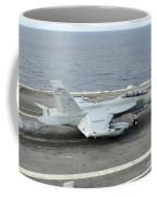 An Ea-18g Growler Makes An Arrested Coffee Mug