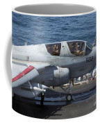 An Ea-6b Prowler During Flight Coffee Mug