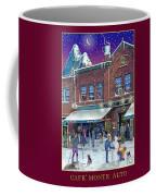 An Early Snow For Cafe Monte Alto Coffee Mug