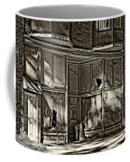 An Economic Tale Sepia Coffee Mug