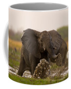 An Elephant Charges When Startled Coffee Mug