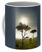 An Elephant Walks Among The Trees Kenya Coffee Mug